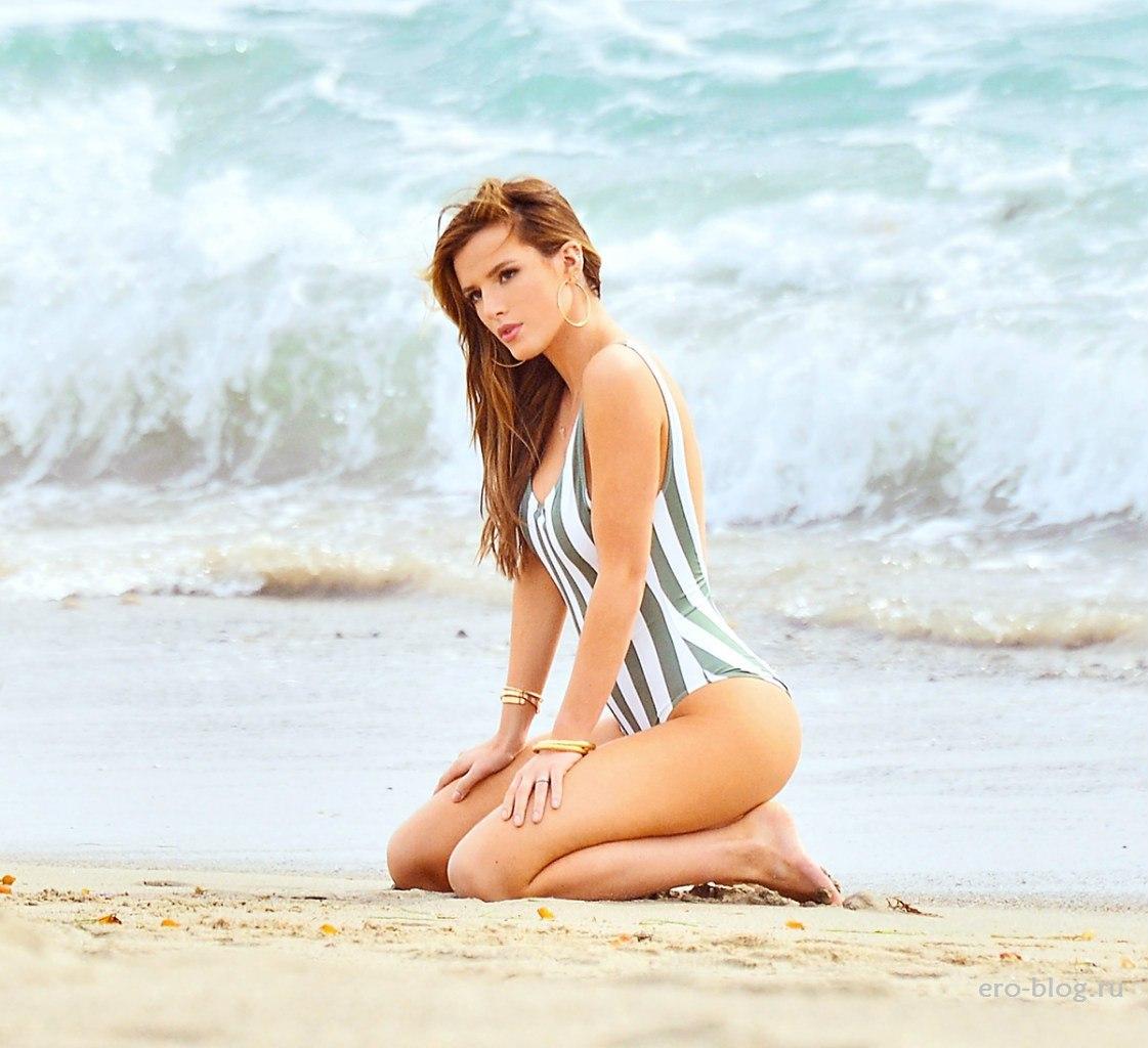 Голая обнаженная Bella Thorne   Белла Торн интимные фото звезды
