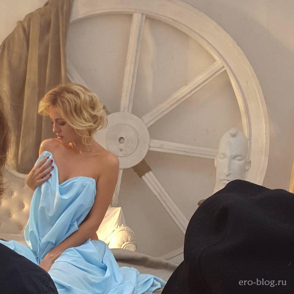 Голая обнаженная Янина Студилина интимные фото звезды
