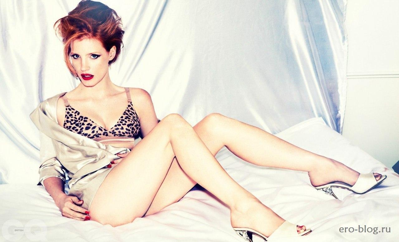 Голая обнаженная Jessica Chastain | Джессика Честейн интимные фото звезды