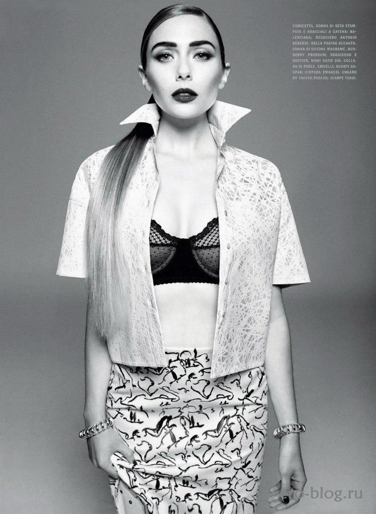 Голая обнаженная Elizabeth Olsen | Элизабет Олсен интимные фото звезды