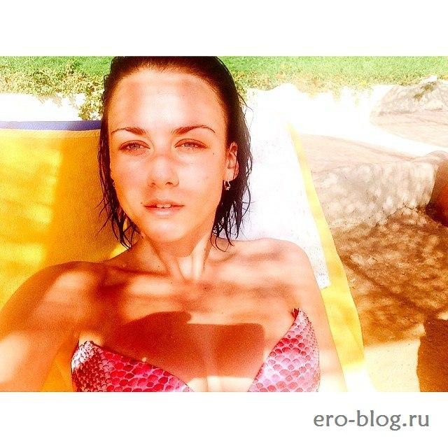 Голая обнаженная Ингрид Олеринская интимные фото звезды