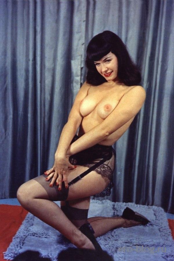 Голая обнаженная Bettie Page | Бетти Пейдж интимные фото звезды