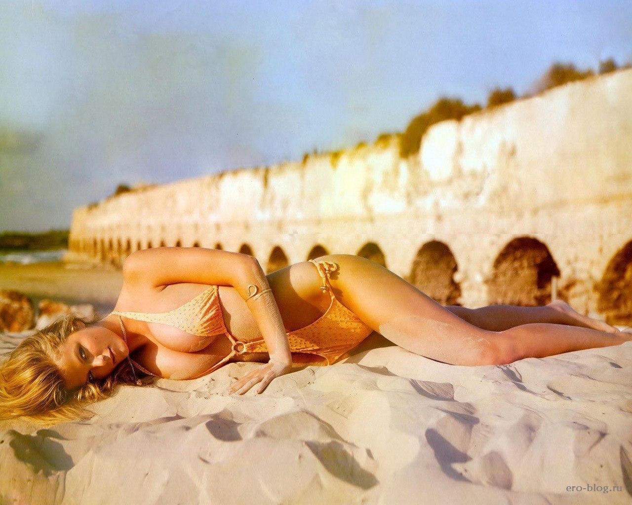 Голая обнаженная Brooklyn Decker   Бруклин Деккер интимные фото звезды