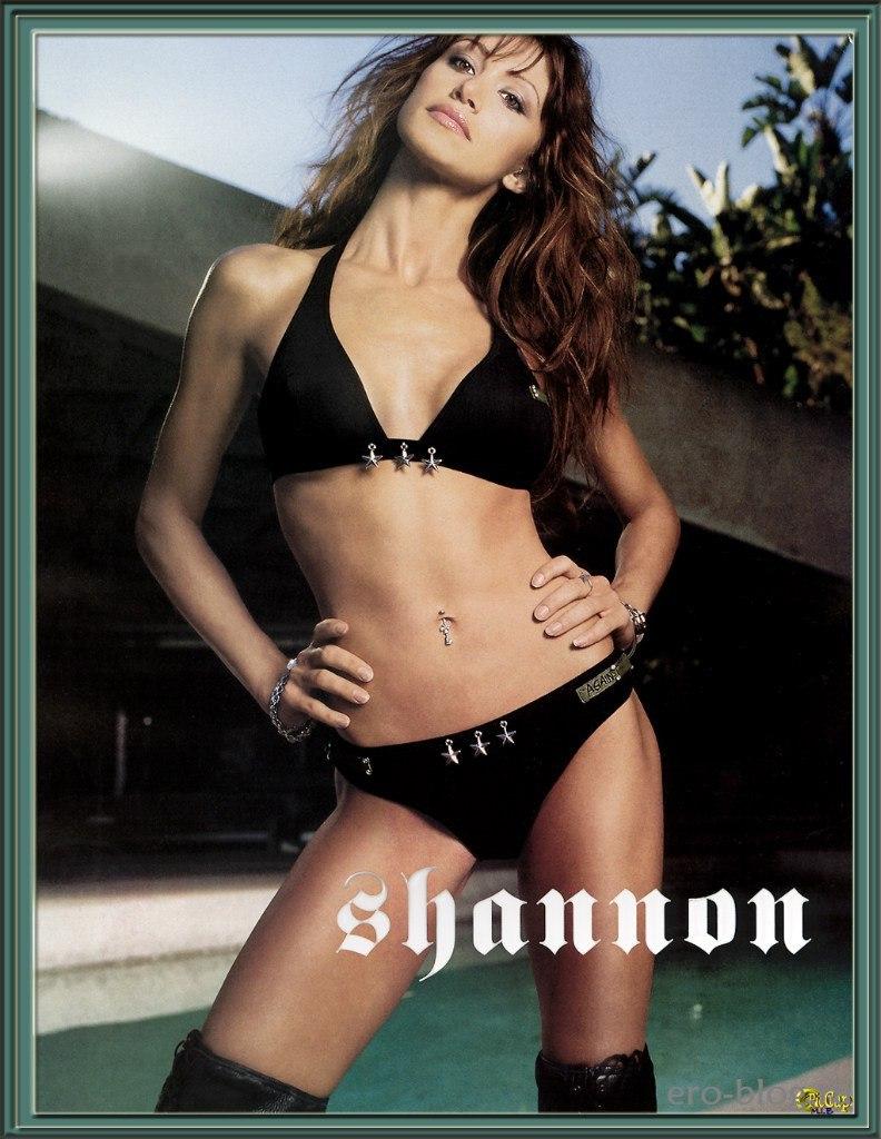 Голая обнаженная Shannon Elizabeth | Шеннон Элизабет интимные фото звезды