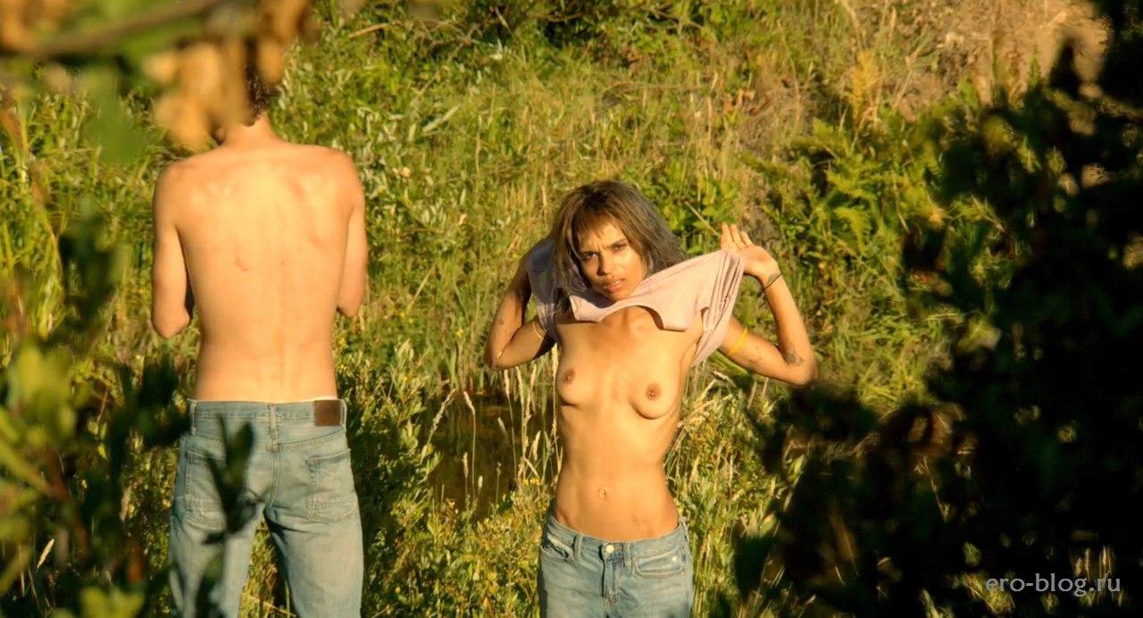 Голая обнаженная Zoe Kravitz   Зои Кравиц интимные фото звезды