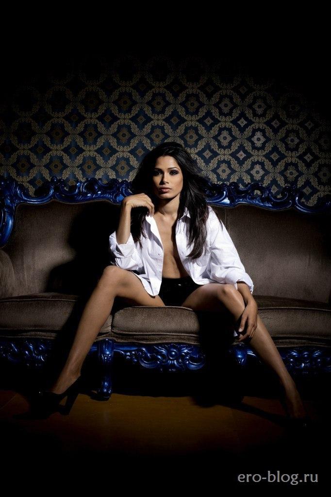Голая обнаженная Freida Pinto   Фрида Пинто интимные фото звезды