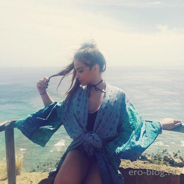 Голая обнаженная Stella Hudgens   Стелла Хадженс интимные фото звезды