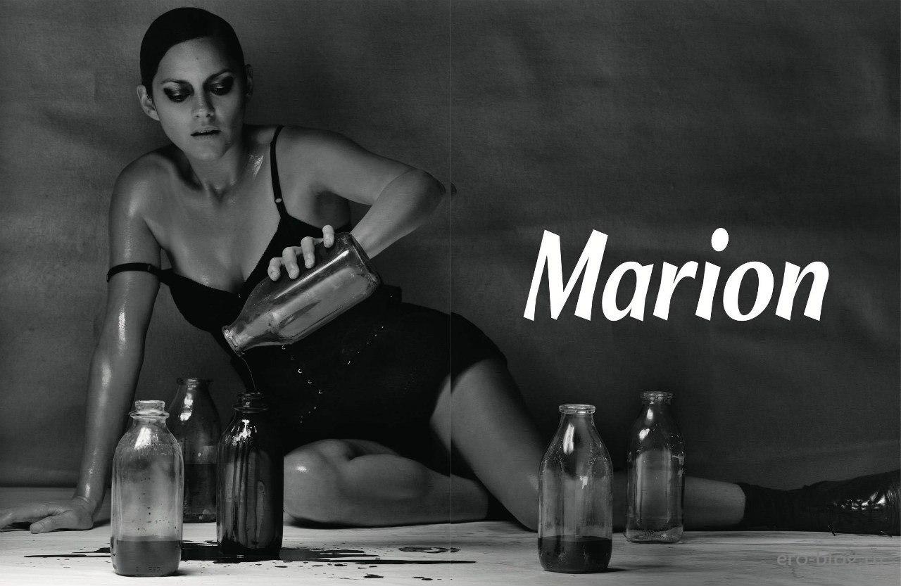 Голая обнаженная Marion Cotillard   Марион Котийяр интимные фото звезды