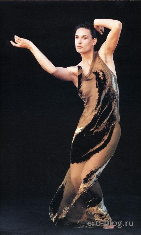 Голая обнаженная Demi Moore | Деми Мур интимные фото звезды