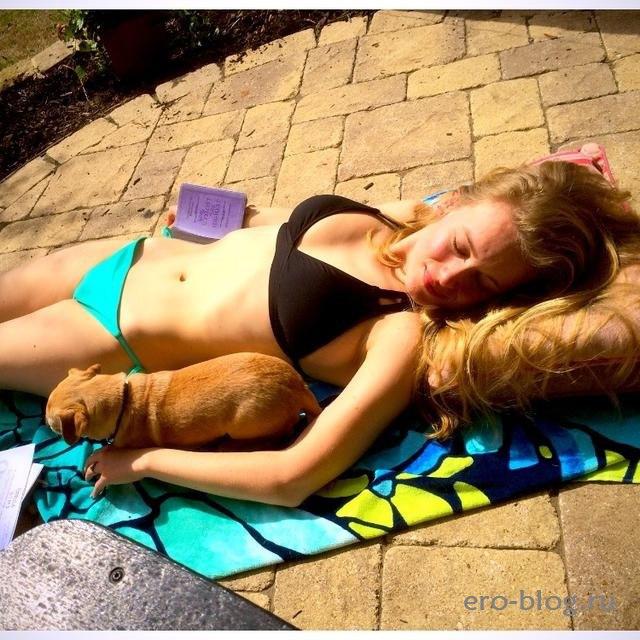 Голая обнаженная Leven Rambin | Ливэн Рамбин интимные фото звезды
