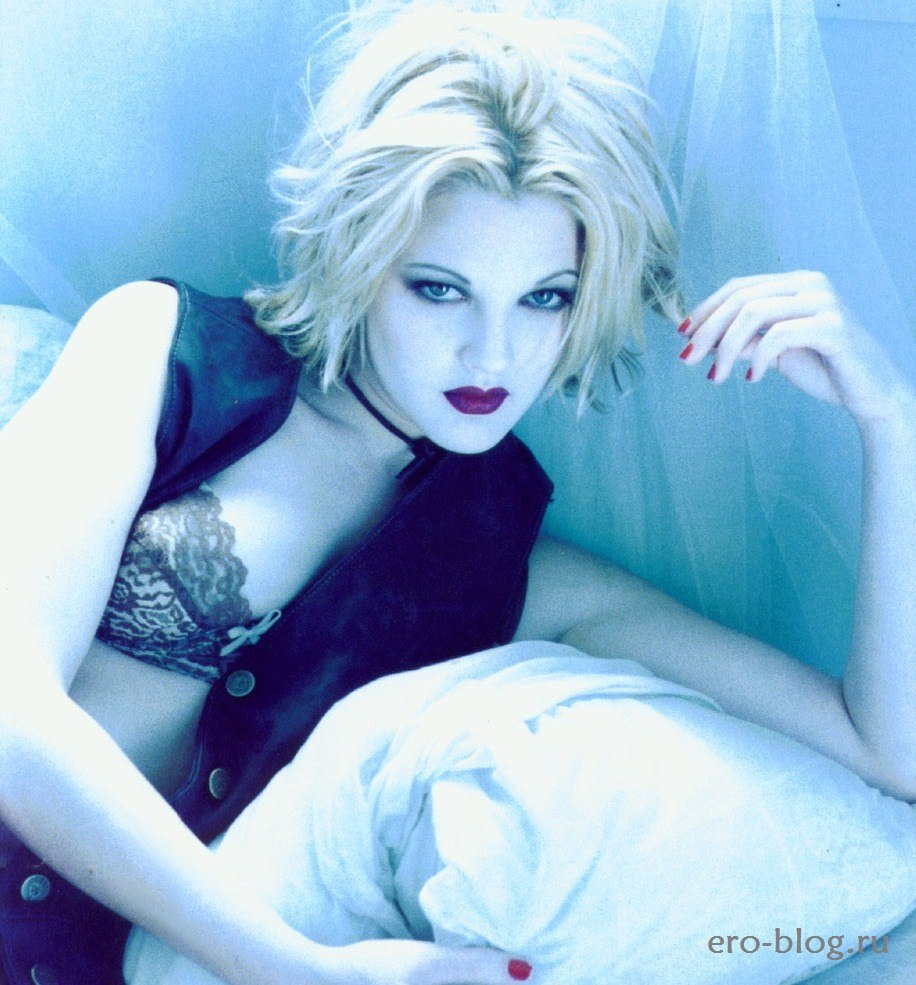 Голая обнаженная Drew Barrymore | Дрю Бэрримор интимные фото звезды