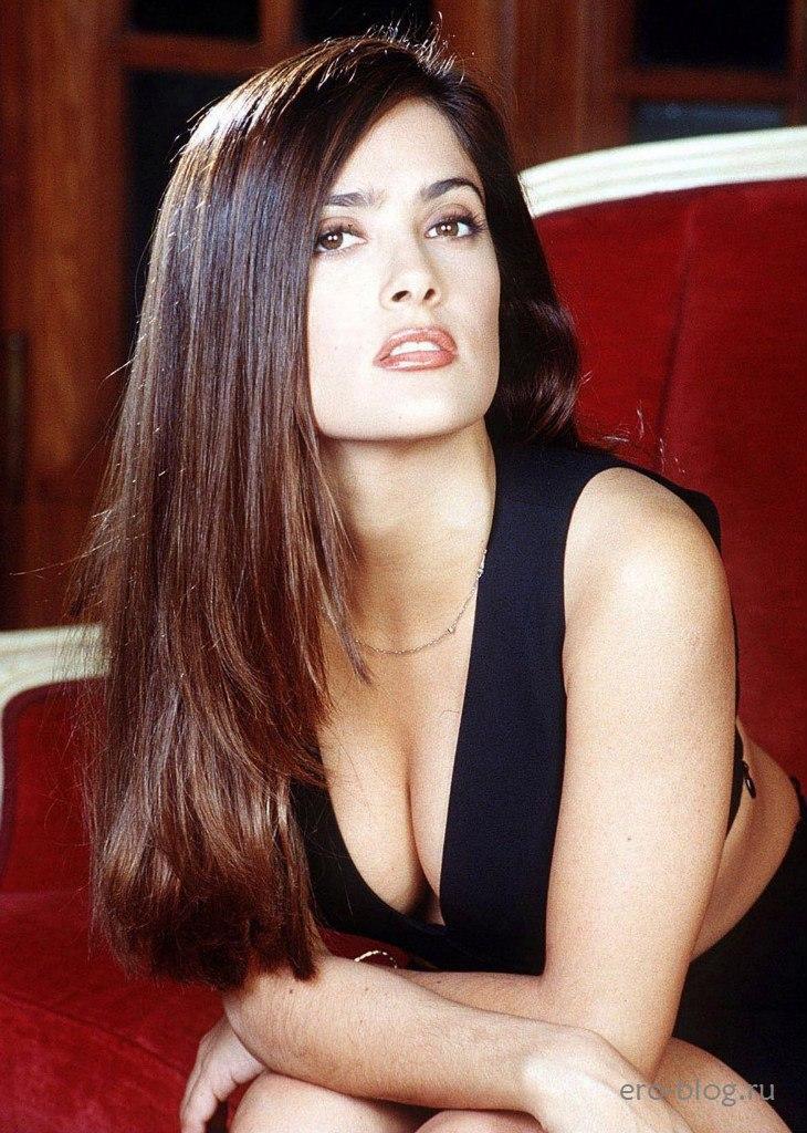 Голая обнаженная Salma Hayek   Сальма Хайек интимные фото звезды