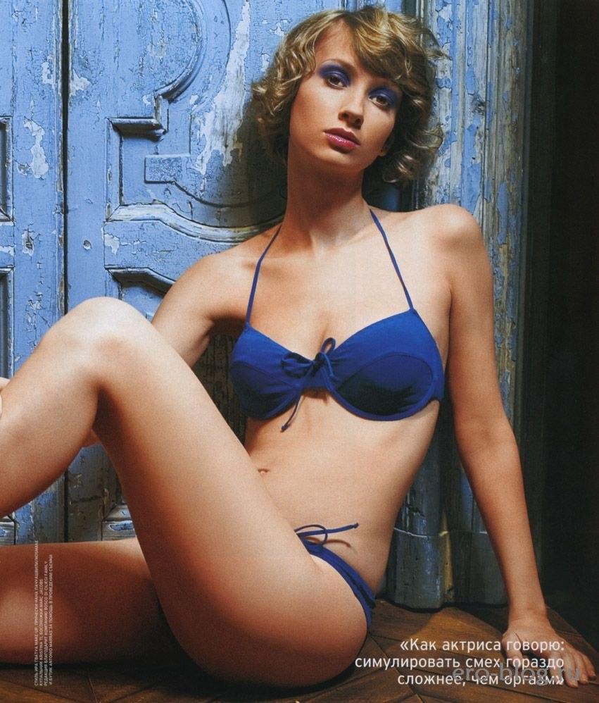 Голая обнаженная Анастасия Цветаева интимные фото звезды
