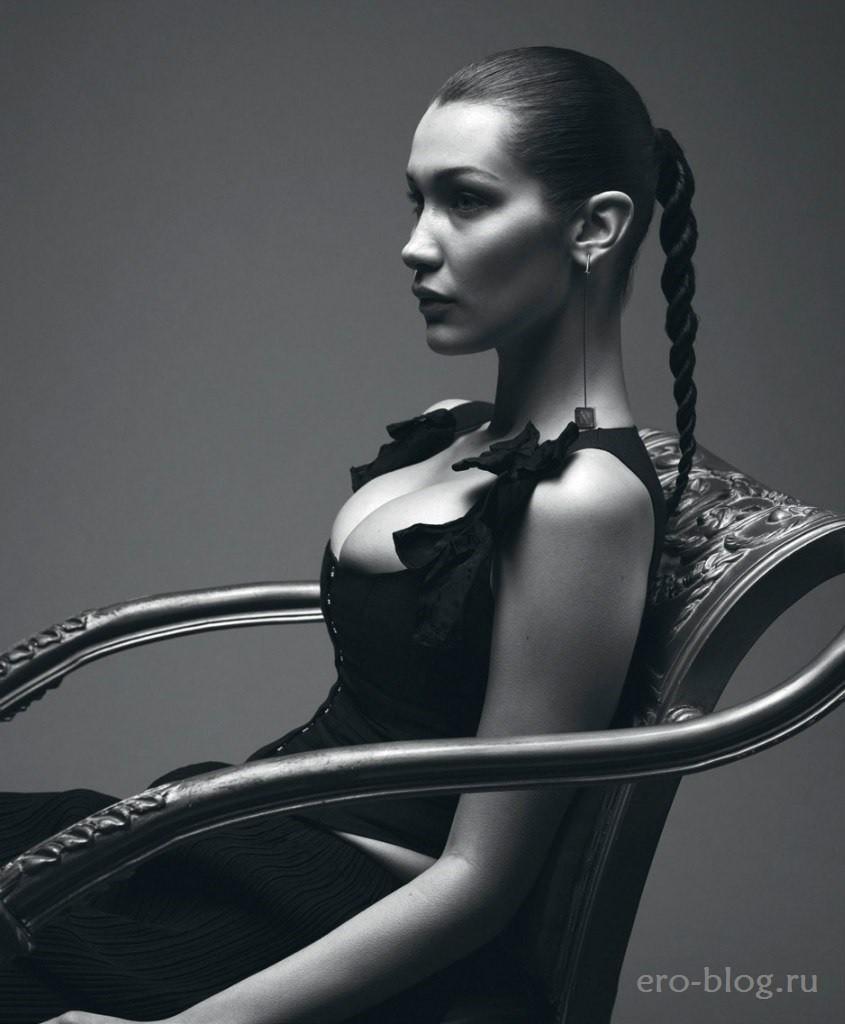 Голая обнаженная Bella Hadid | Белла Хадид интимные фото звезды