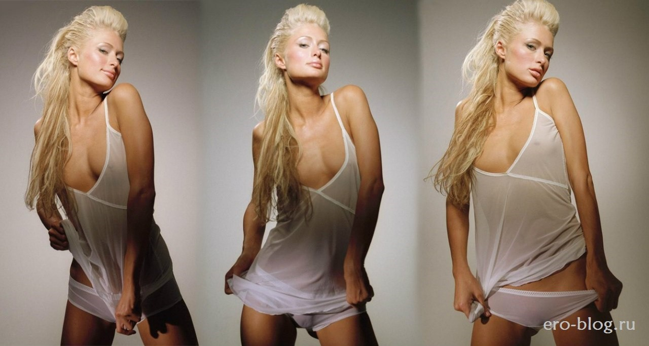 Голая обнаженная Paris Hilton   Пэрис Хилтон интимные фото звезды