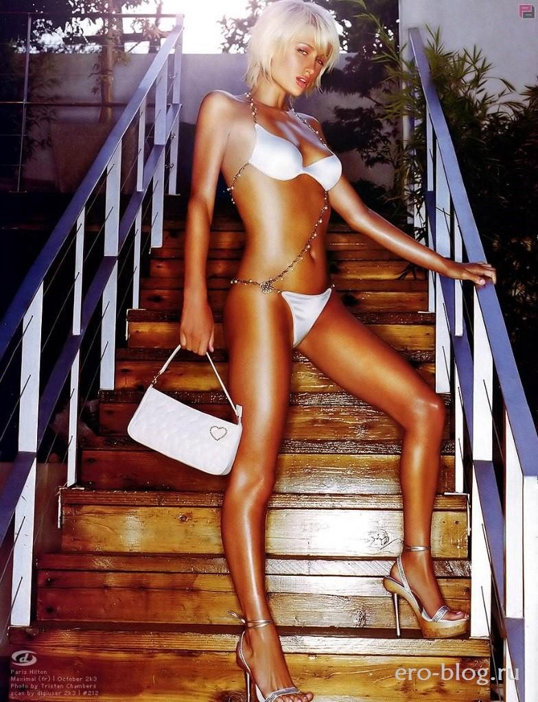 Голая Paris Hilton фото | Обнаженная Пэрис Хилтон