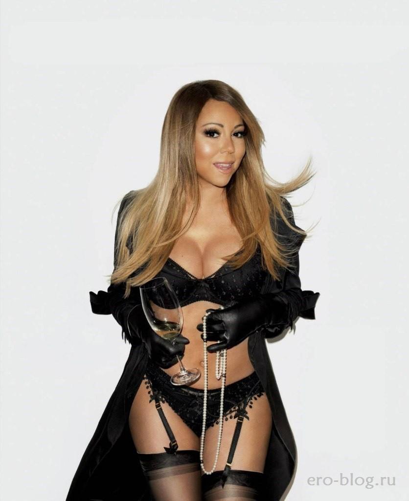 Голая Mariah Carey фото | Обнаженная Мэрайя Кэри