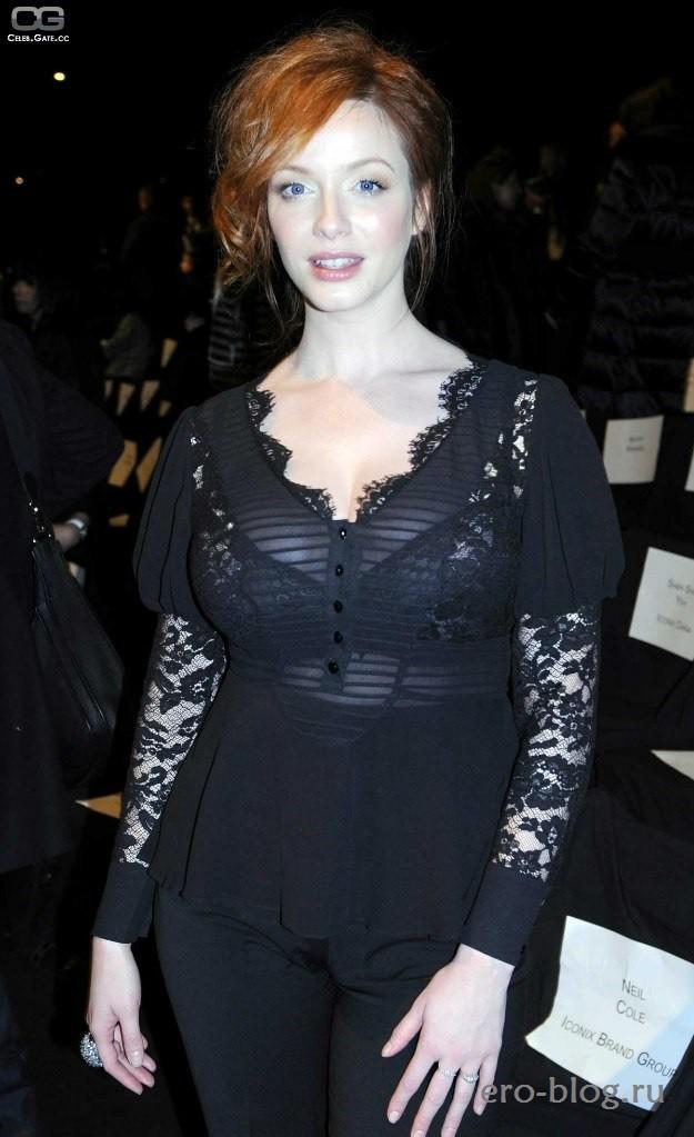 Голая обнаженная Christina Hendricks | Кристина Хендрикс интимные фото звезды