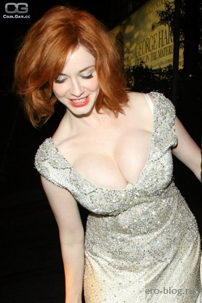 Голая Christina Hendricks фото | Обнаженная Кристина Хендрикс