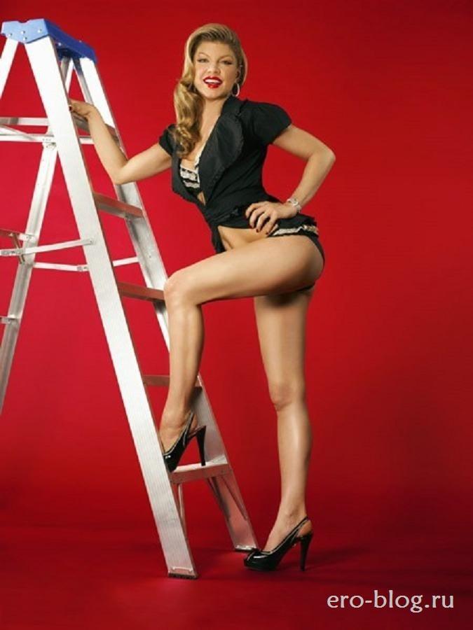 Голая обнаженная Fergie | Ферджи интимные фото звезды