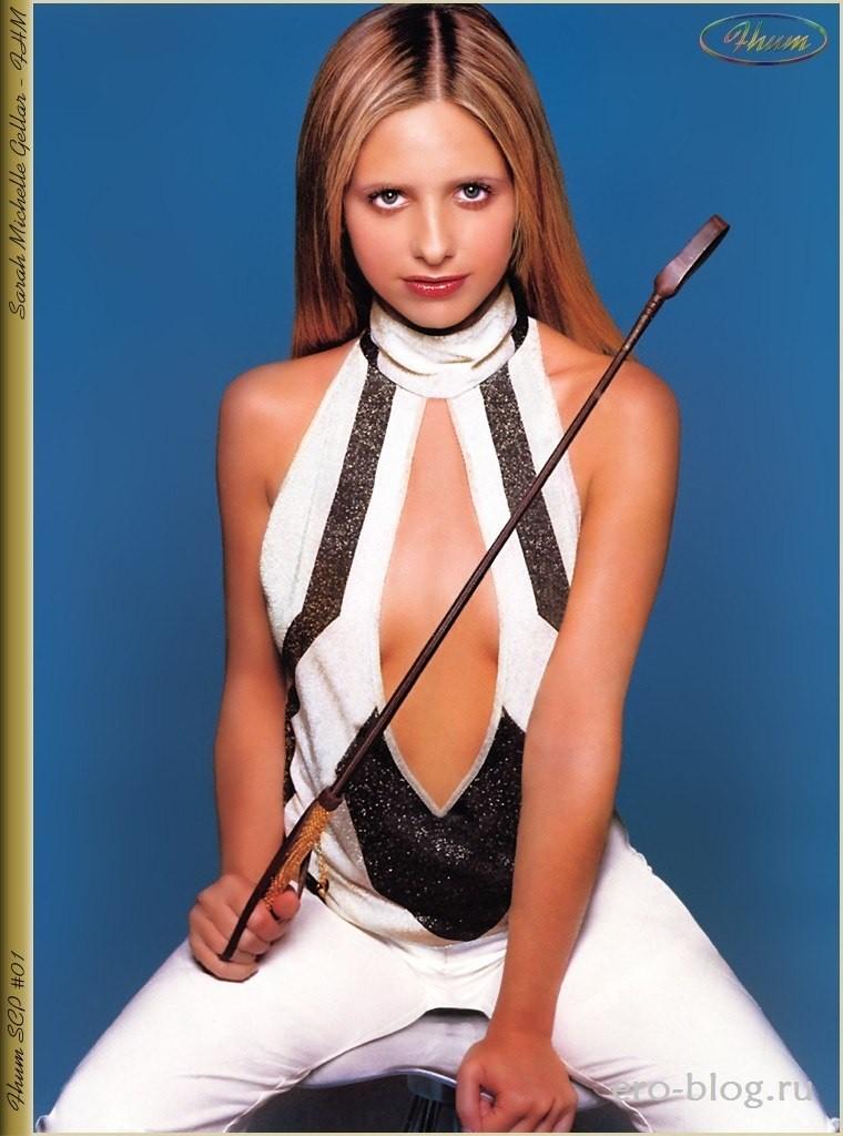 Голая обнаженная Sarah Michelle Gellar | Сара Мишель Геллар интимные фото звезды