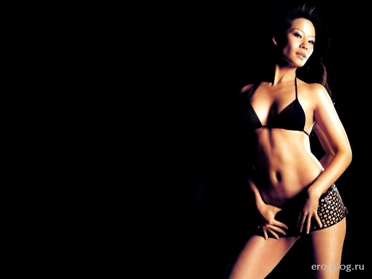 Голая обнаженная Lucy Liu | Люси Лью интимные фото звезды