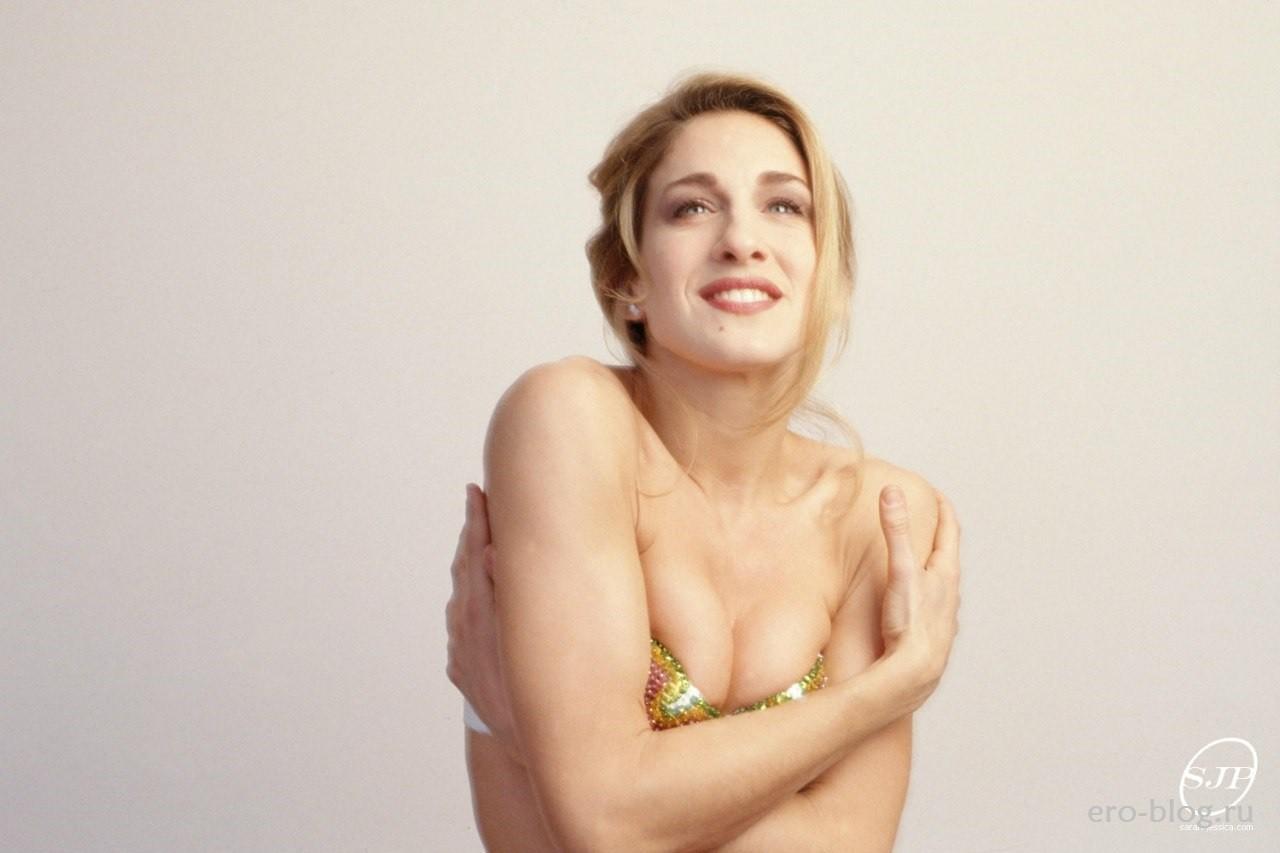 Голая обнаженная Sarah Jessica Parker | Сара Джессика Паркер интимные фото звезды