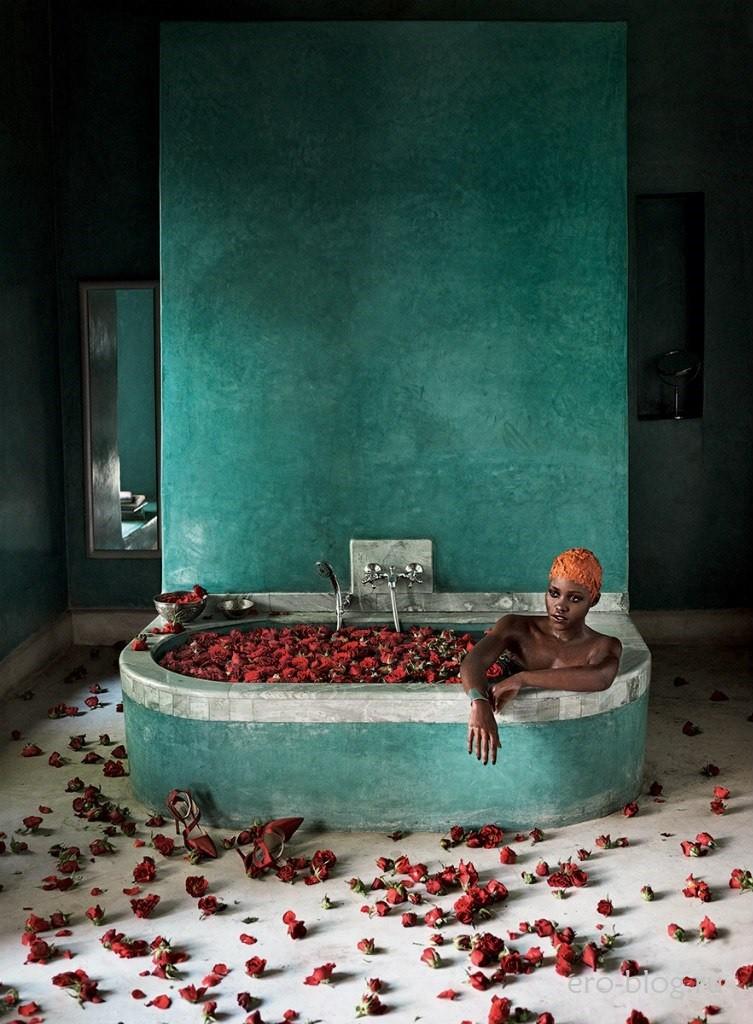 Голая обнаженная Lupita Nyong'o   Люпита Нионго интимные фото звезды