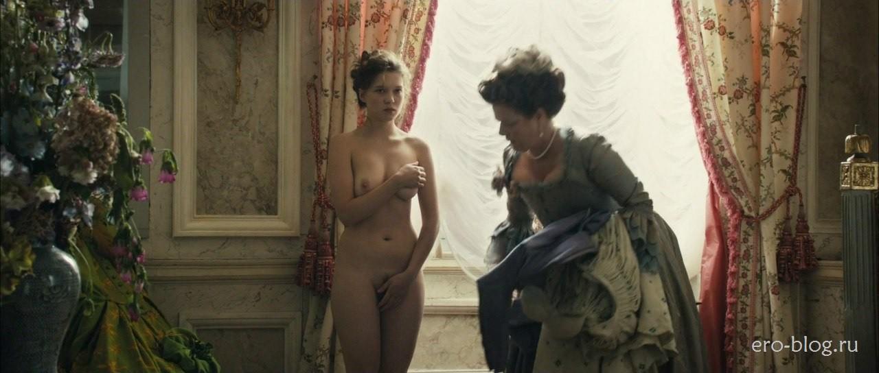 Голая обнаженная Lea Seydoux | Леа Сейду интимные фото звезды