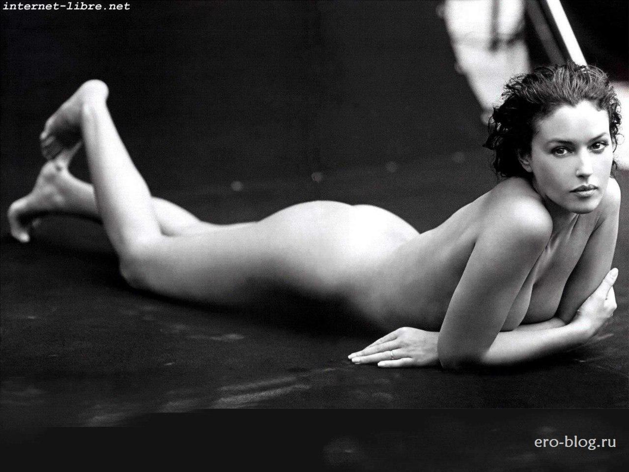 Голая обнаженная Моника Беллуччи интимные фото звезды
