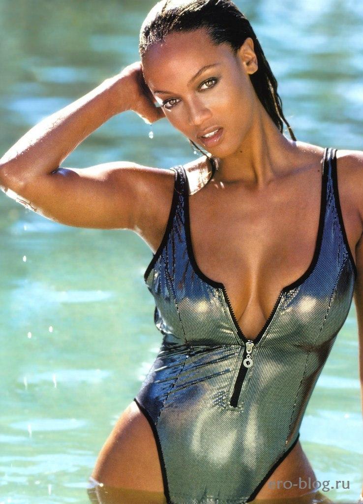 Голая обнаженная Tyra Banks | Тайра Бэнкс интимные фото звезды