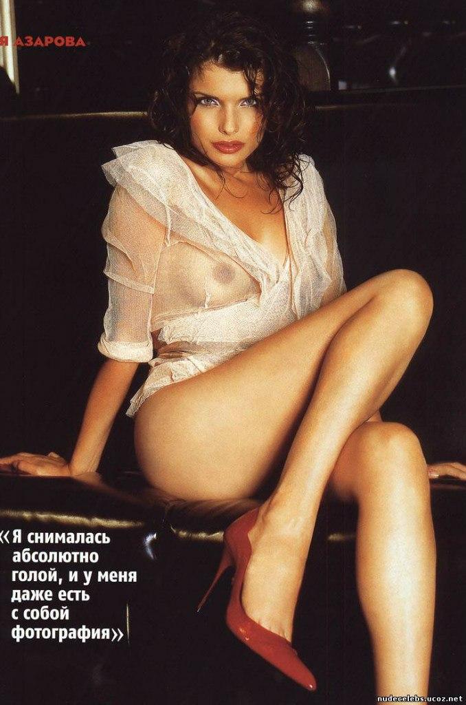 Голая обнаженная Анна Азарова интимные фото звезды