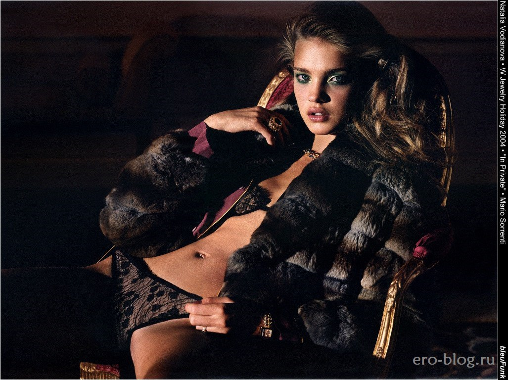 Голая обнаженная Наталья Водянова интимные фото звезды