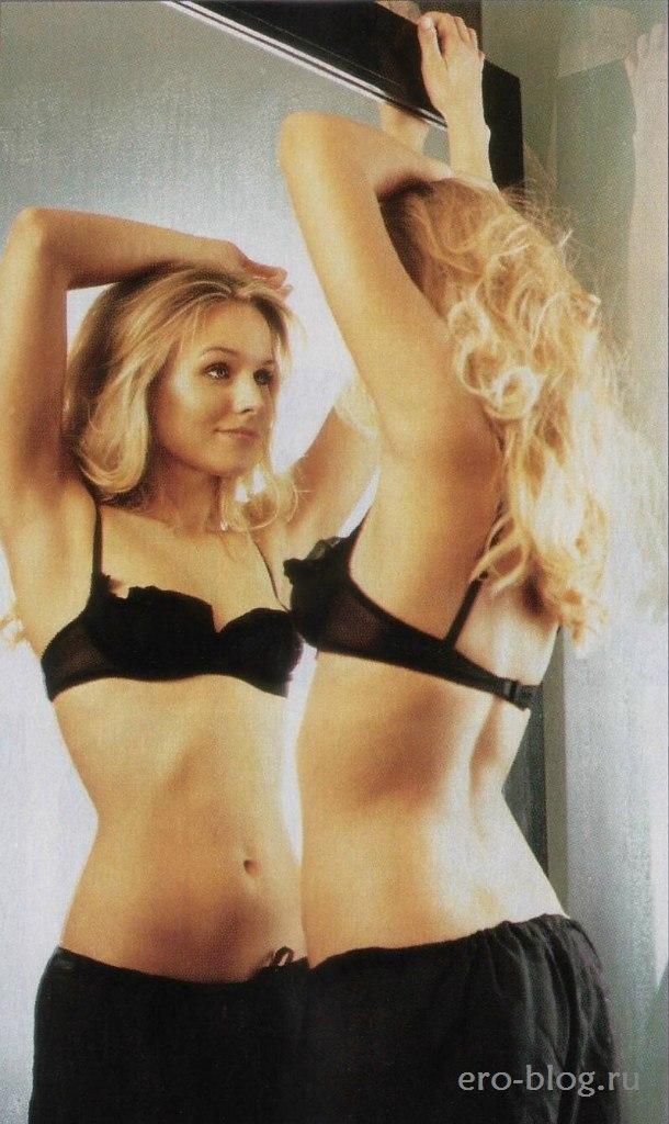 Голая обнаженная Кристен Белл интимные фото звезды