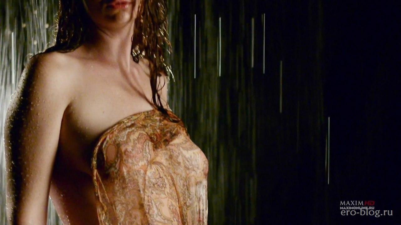 Голая обнаженная Лена Катина интимные фото звезды