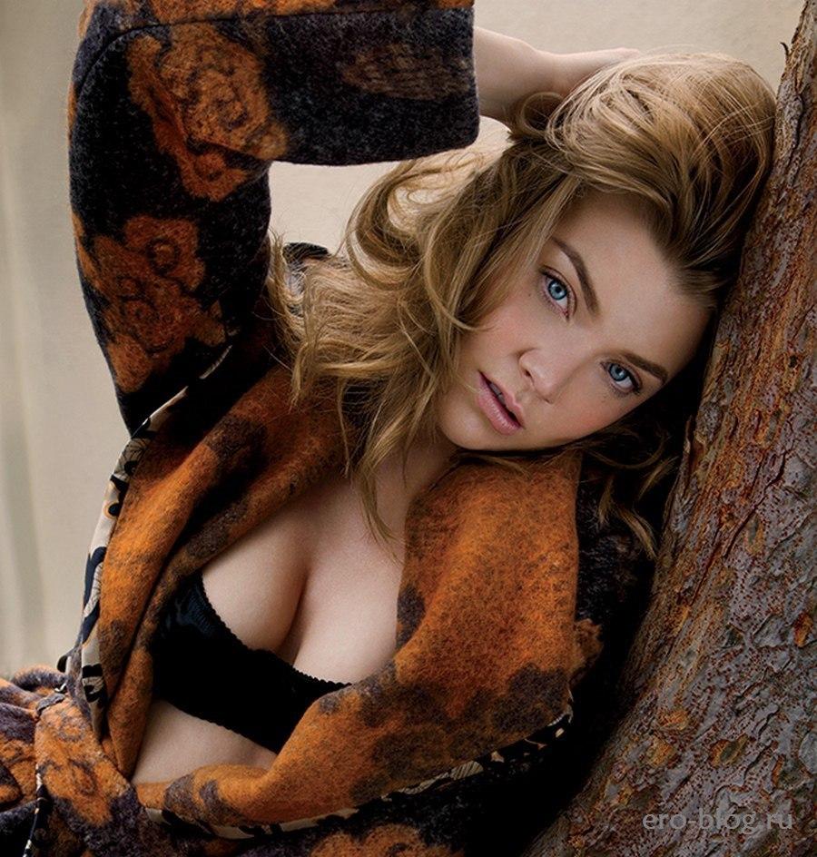 Голая обнаженная Натали Дормер интимные фото звезды