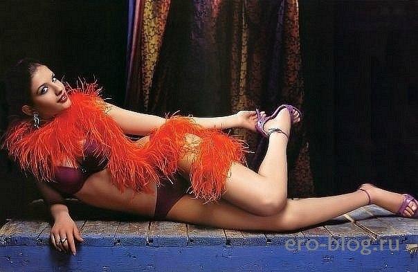 Голая обнаженная Анна Чиповская интимные фото звезды