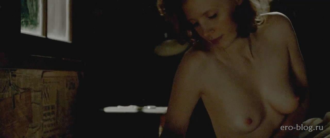 Голая обнаженная Джессика Честейн интимные фото звезды