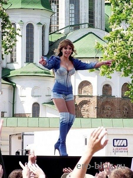 Голая обнаженная Оксана Марченко интимные фото звезды