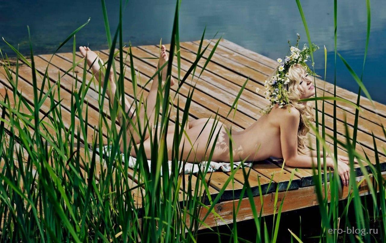 Голая обнаженная Полина Гагарина интимные фото звезды