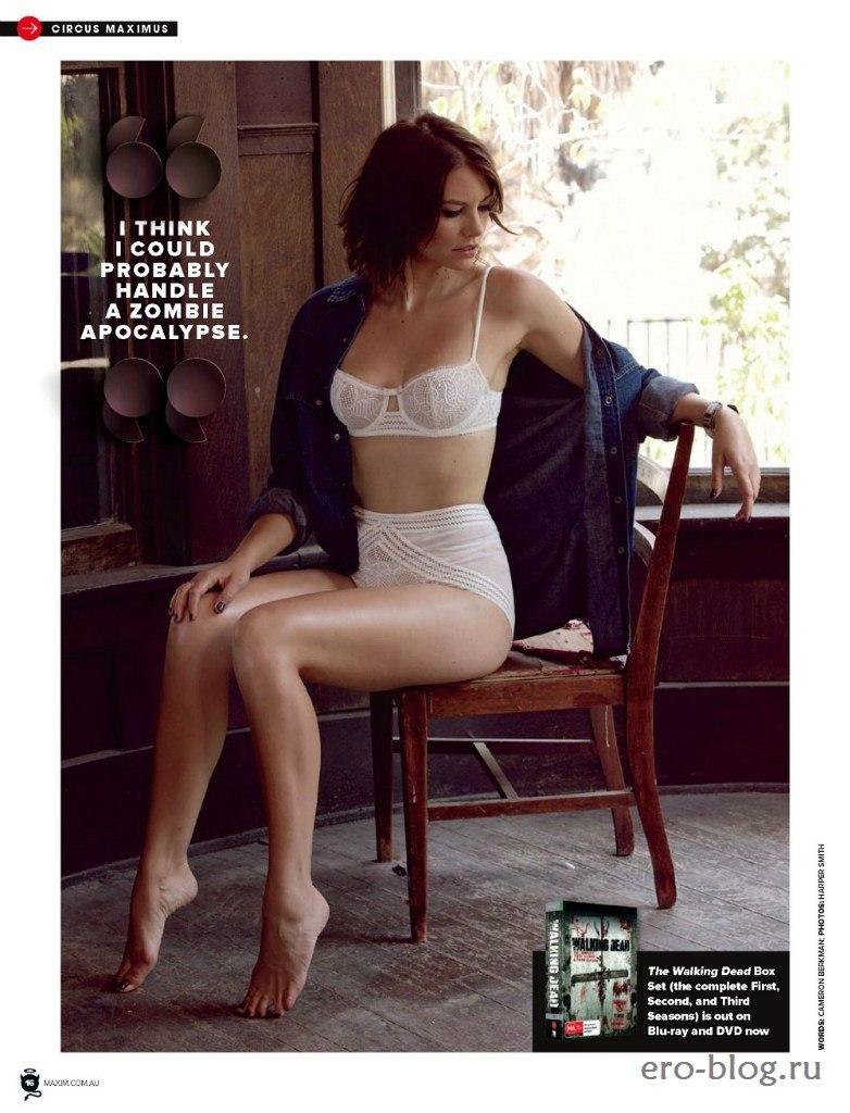 Голая обнаженная Lauren Cohan | Лорен Коэн интимные фото звезды