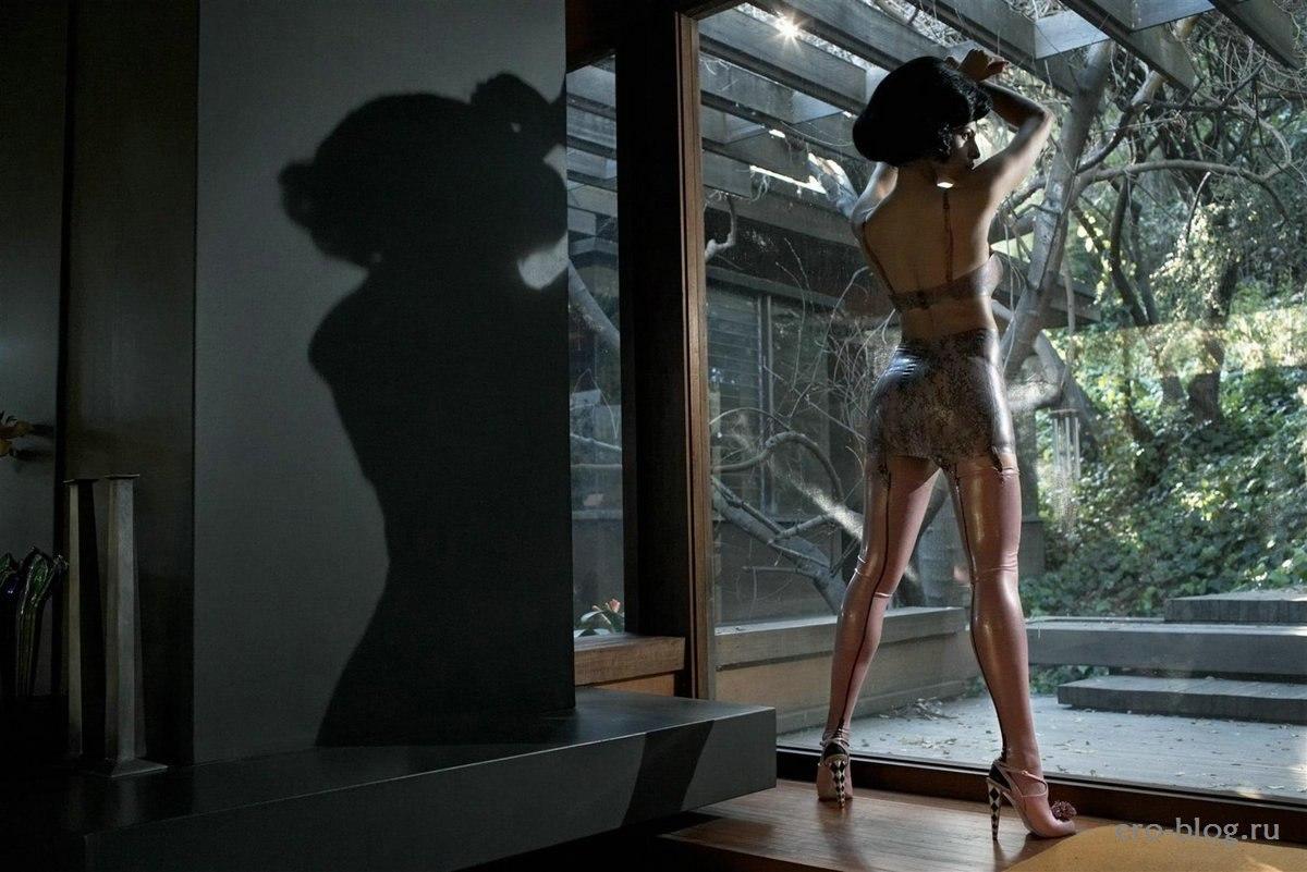 Голая обнаженная Ева Мендес интимные фото звезды