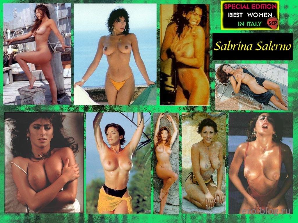 Голая обнаженная Сабрина Салерно интимные фото звезды