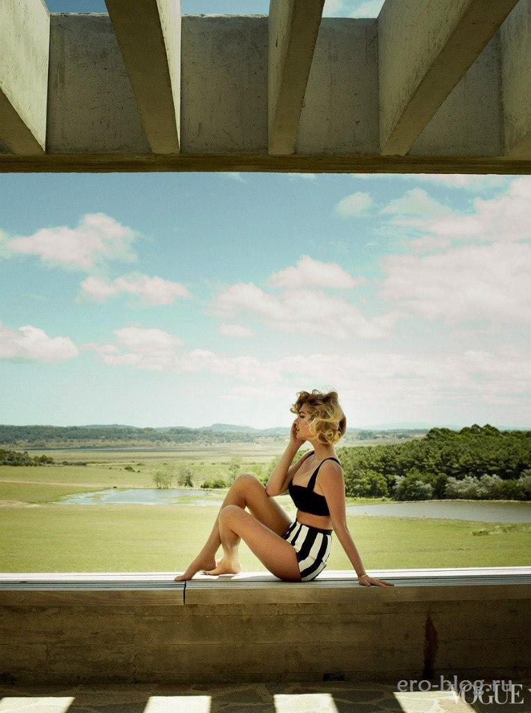 Голая обнаженная Кейт Аптон интимные фото звезды