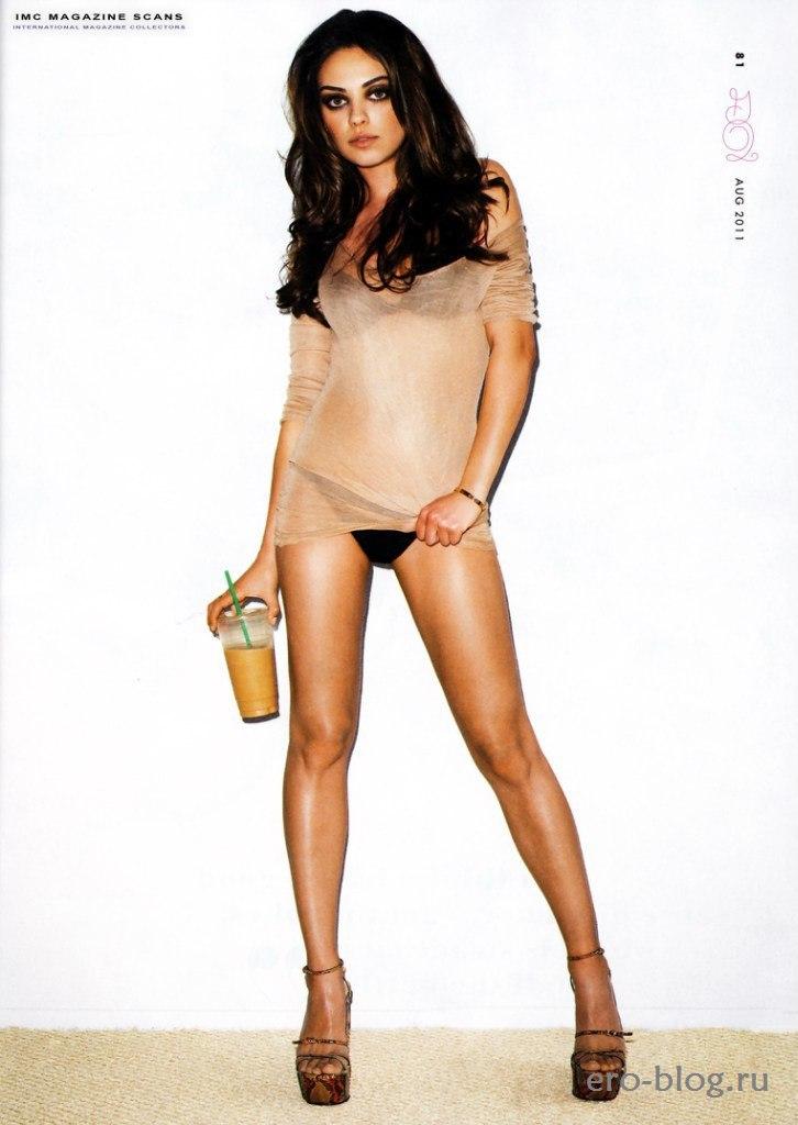 Голая обнаженная Mila Kunis | Мила Кунис интимные фото звезды