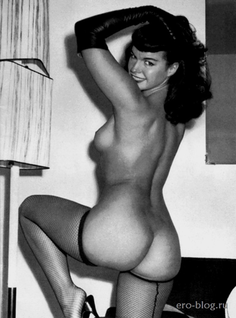 Betty page nude photo young