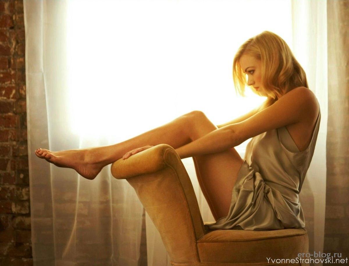 Голая обнаженная Yvonne Strahovski | Ивонн Страховски интимные фото звезды