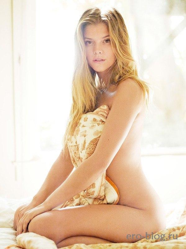Голая обнаженная Nina Agdal   Нина Агдал интимные фото звезды