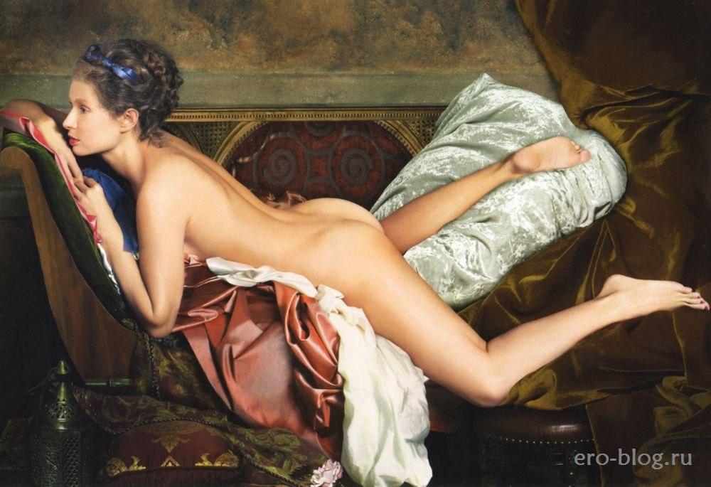 Голая обнаженная Эвелина Блёданс интимные фото звезды