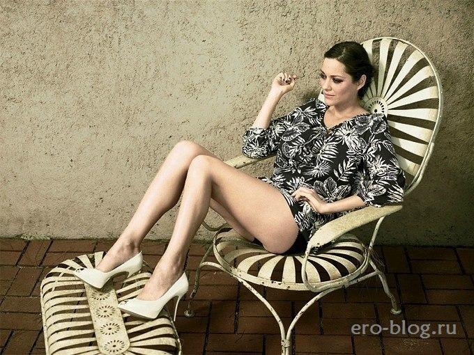 Голая обнаженная Marion Cotillard | Марион Котийяр интимные фото звезды